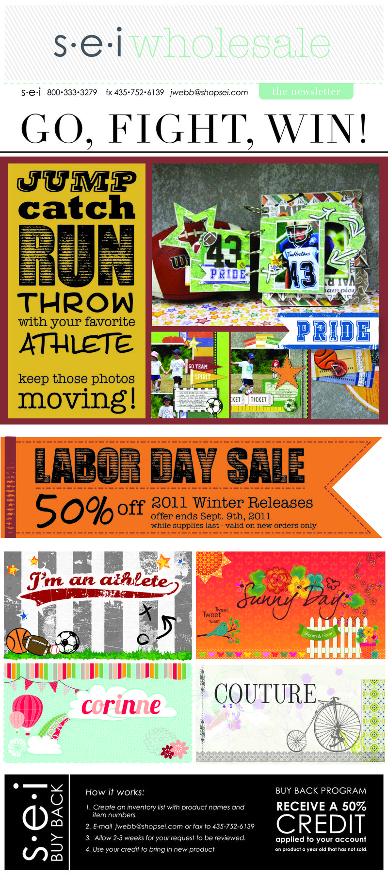 SEI Labor  Day Sale